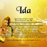 Ida's Story